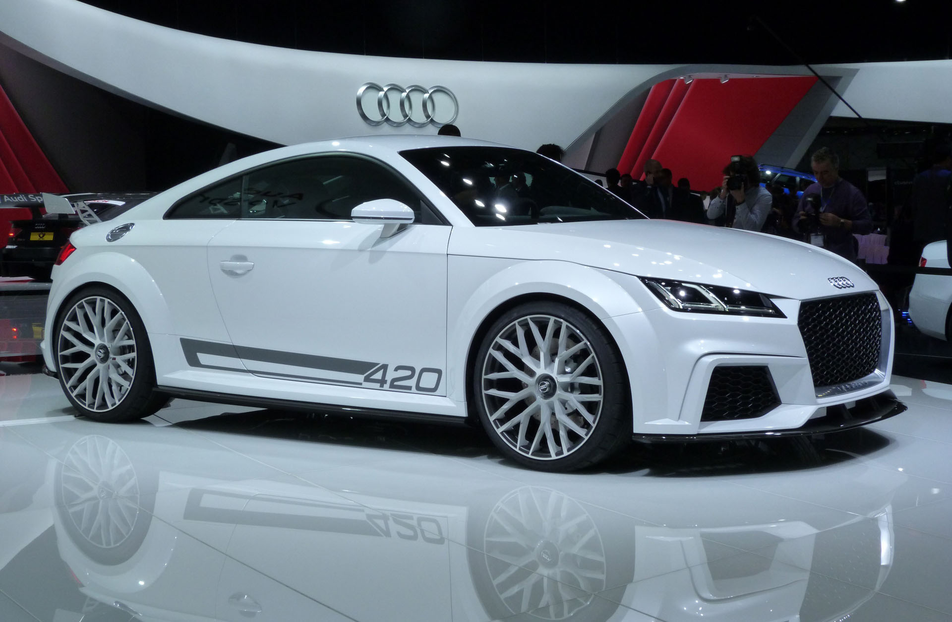 Design Consulting  News Showcar Audi TT